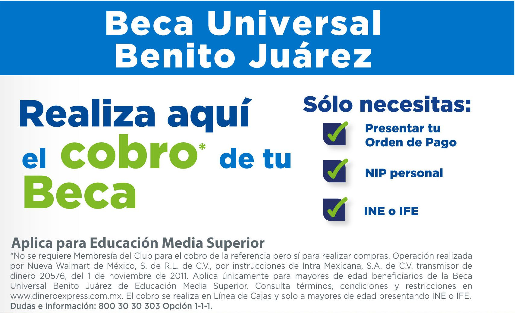 Beca universal Benito Juarez
