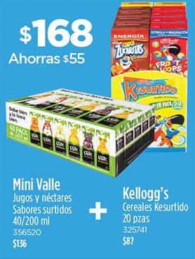 Mini Valle + Kellogg's