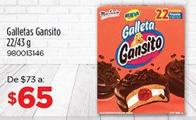 Galletas Gansitos