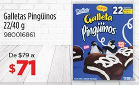 Galletas Pingüinos