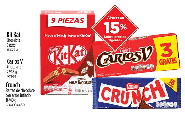 Variedad Chocolates