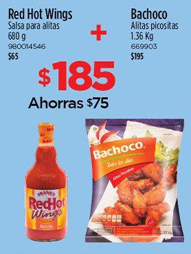 Salsa+Alitas Bachoco
