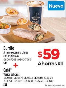 Burrito + Café