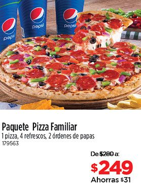 Paquete Pizza