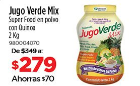 Jugo Verde Mix