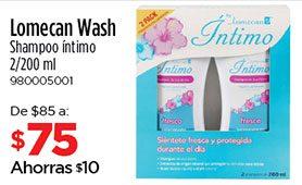 Lomecan Wash