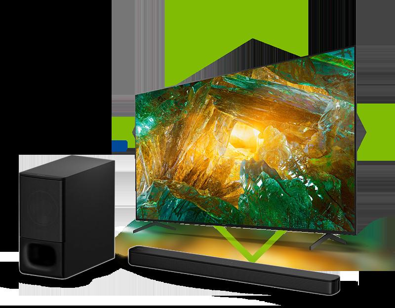 Barra Sonido y pantalla Sony