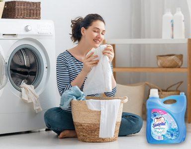 Lavar con suavitel