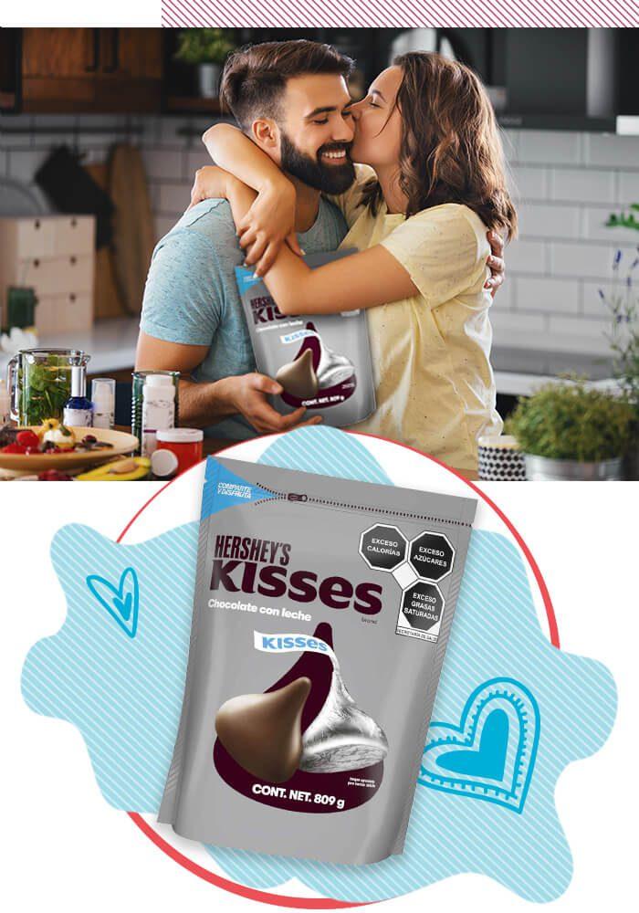 Hershey's Kisses - Día de San Valentín