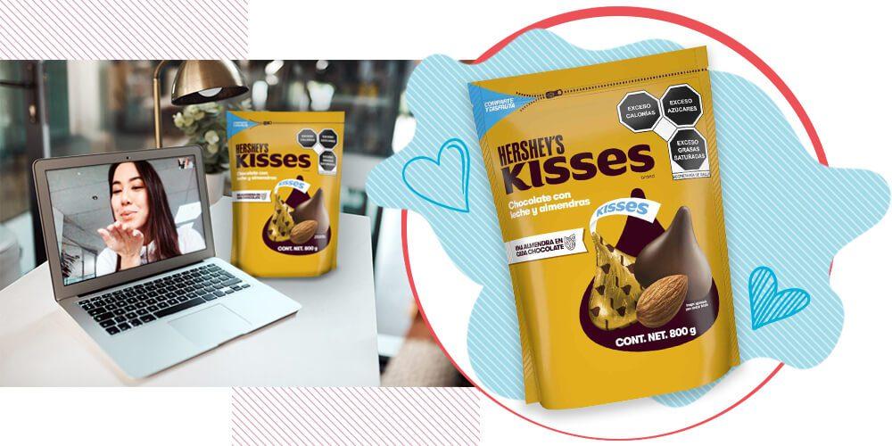 Hershey's Kisses almendras - San Valentín