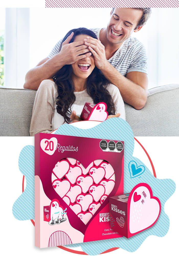 Hershey's Kisses Mini - San Valentín