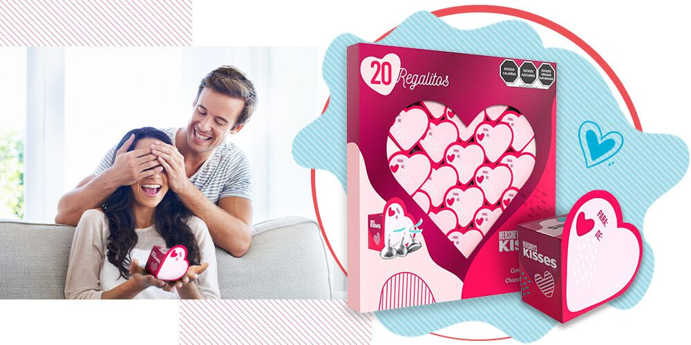 Hershey's Kisses Mini regalos - San Valentín