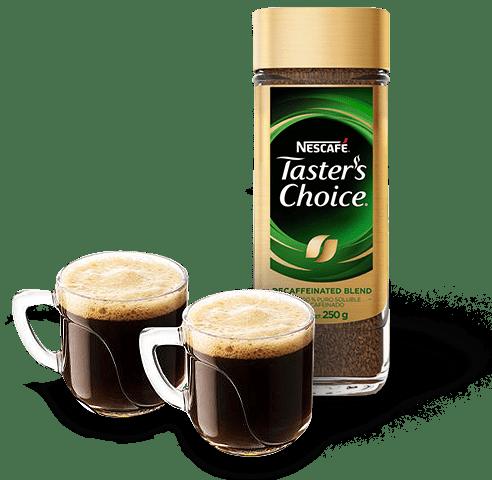 Frasco Nescafe Taster Choicce Descafeinado