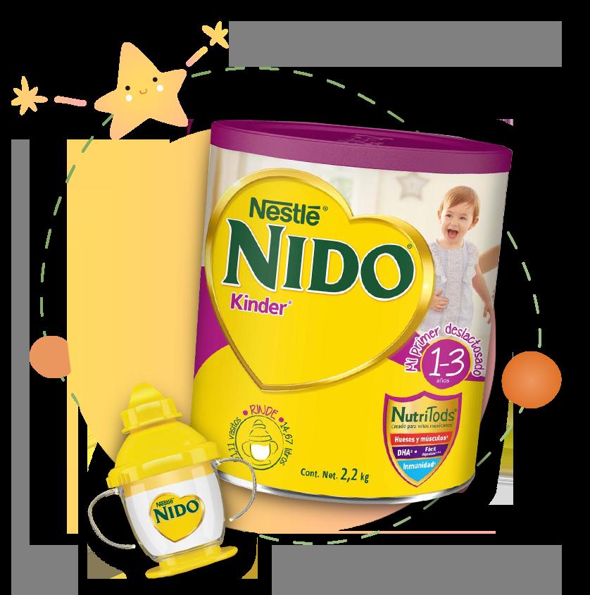 Nestle Nido Fortigrow Deslactosada 1