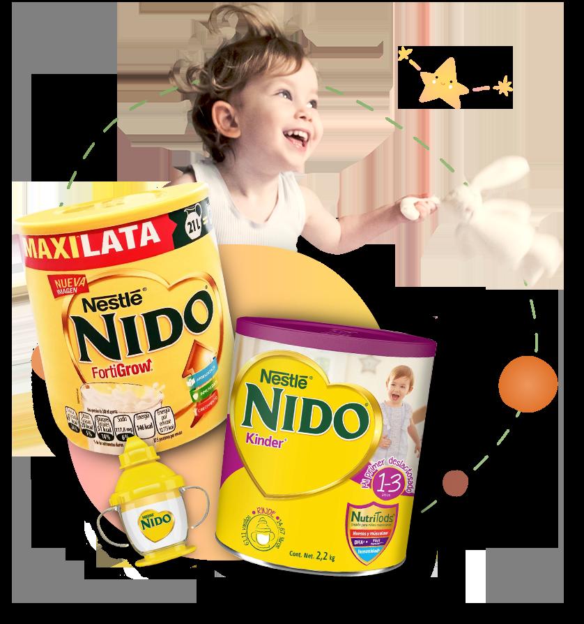 Nido Fortigrow Deslactosada 3
