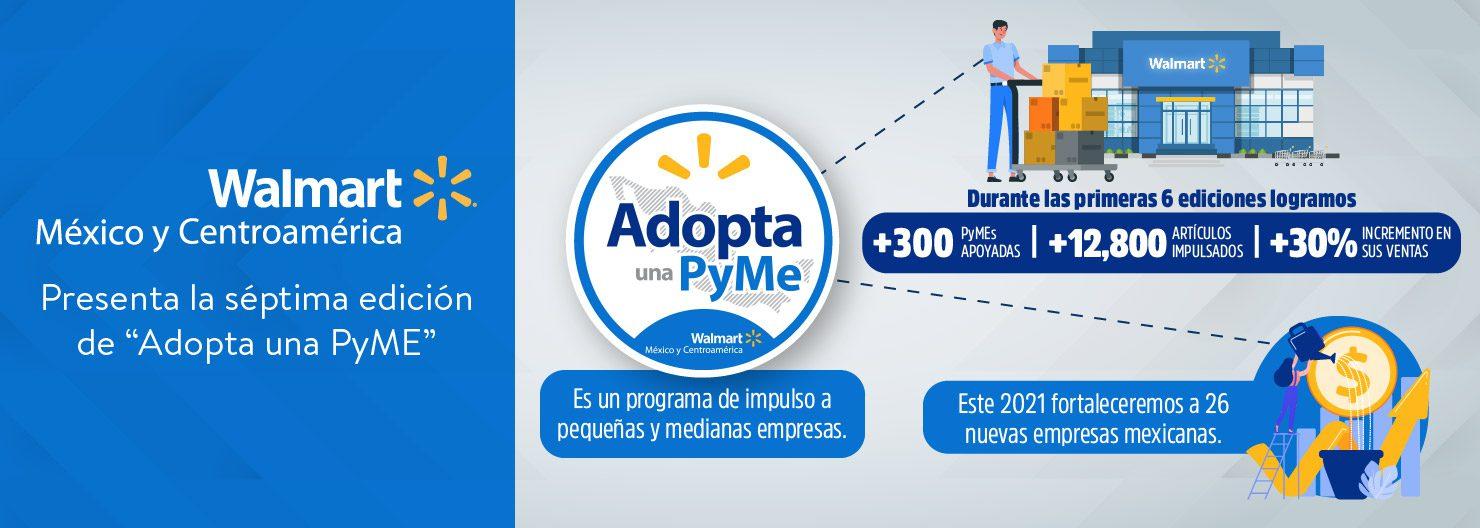 """Presenta la séptima edición de """"Adopta una PyME"""""""