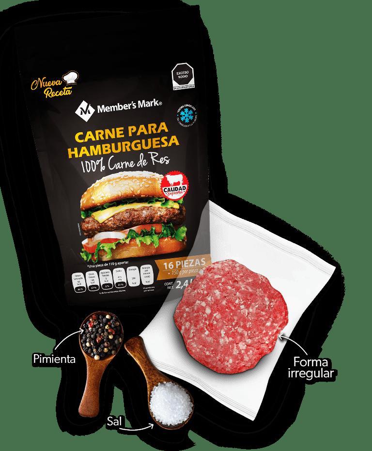 Carne Para Hamburguesa Sal Pimienta 7