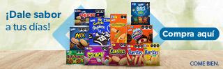 superbanner - Grupo Bimbo - ricas-opciones-para-desayuno - Variedad galletas Bimbo