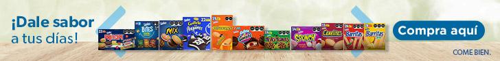 superbanner - Grupo Bimbo - Home Principal - Variedad galletas Bimbo