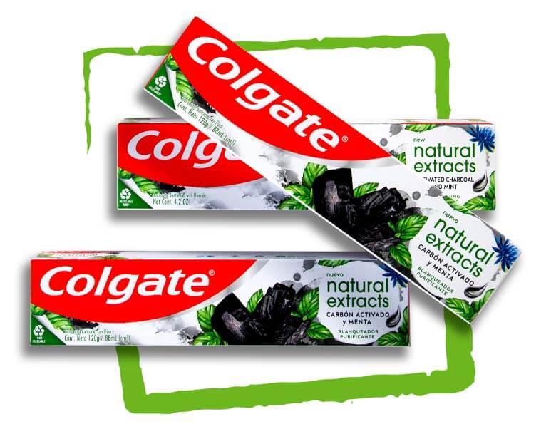 Colgate Natural 3 Cajas