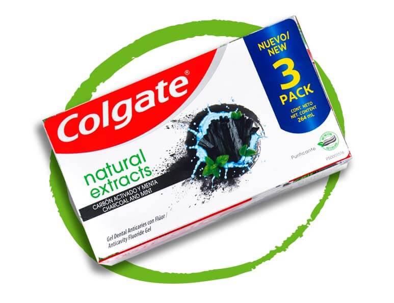 Colgate Natural Paquete 3