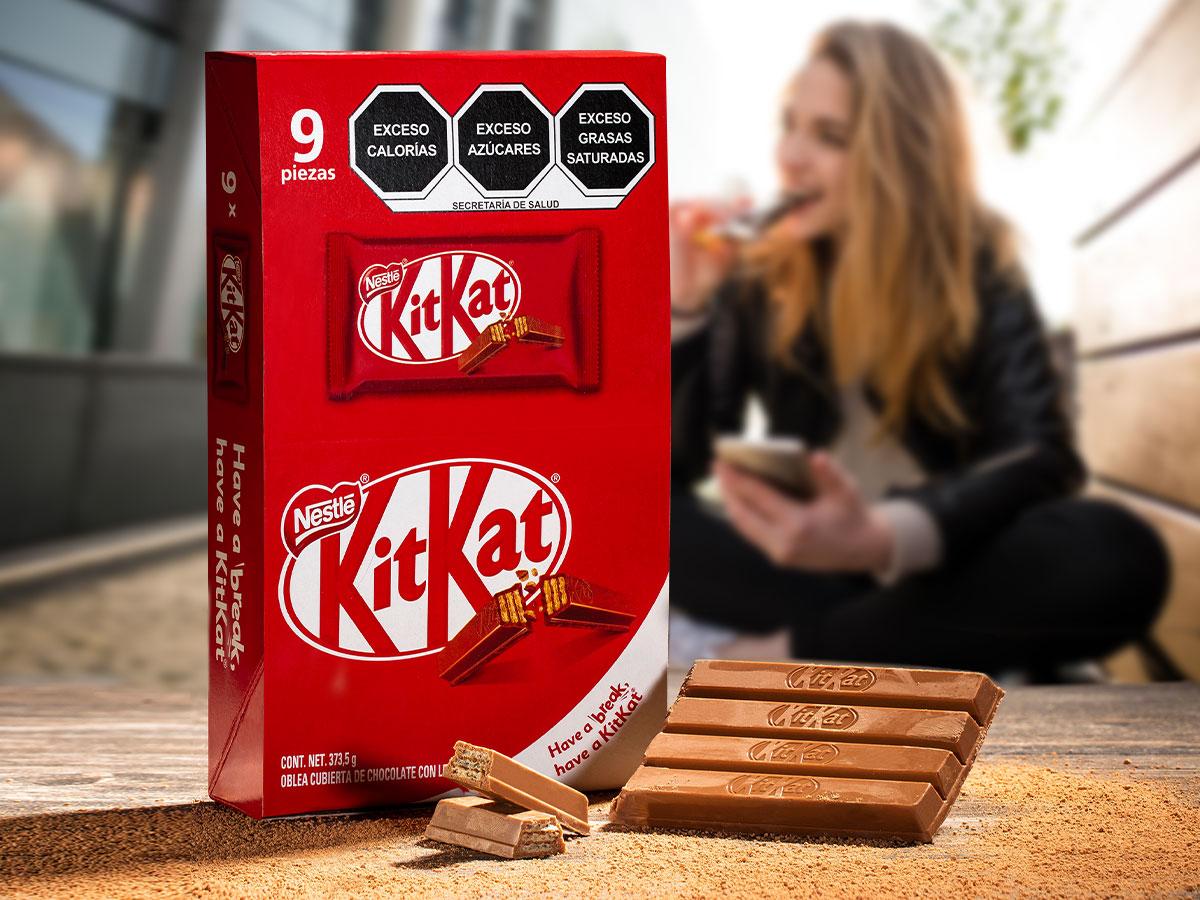 Chocolate Kitkat tómate un break