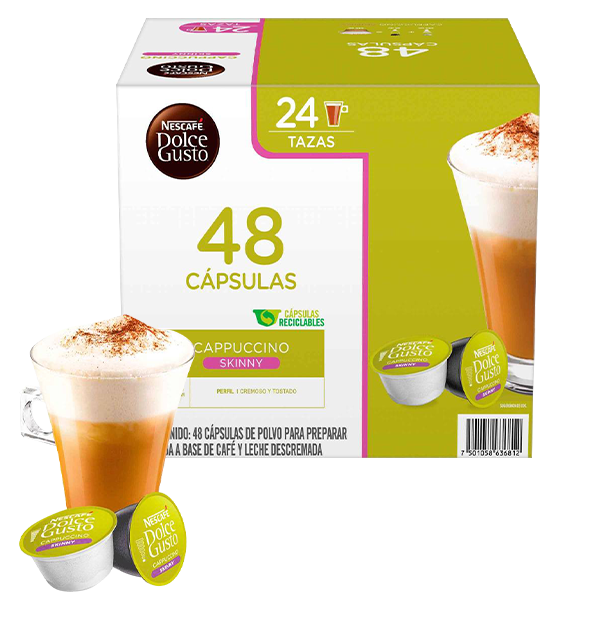 Dolce Gusto capuccino skiny