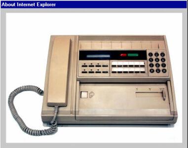 Foto Retro Fax