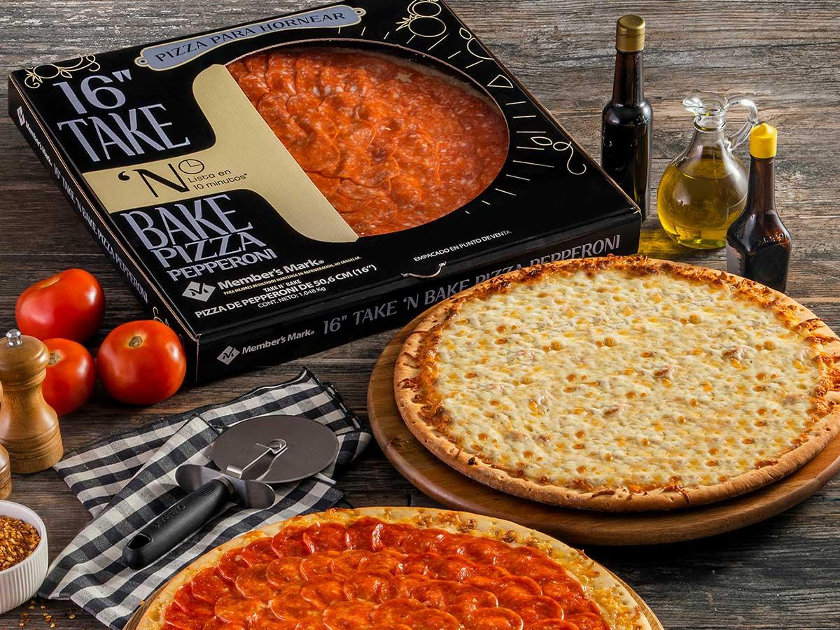 Pizza Para Horenear Take N Bake 1