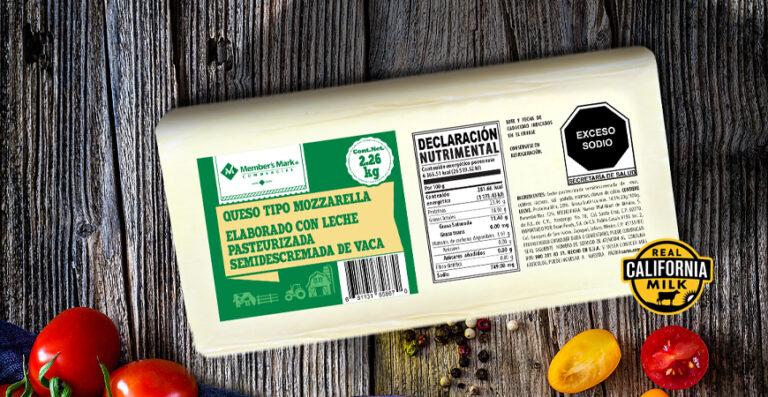 queso mozzarella Member's Mark