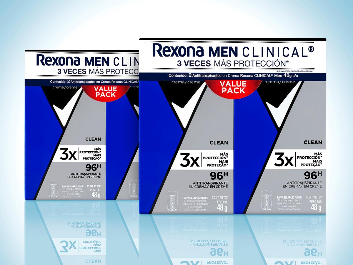 Rexona Clinical Portada