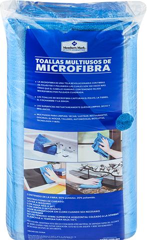 Toallas De Microfibra Member's Mark