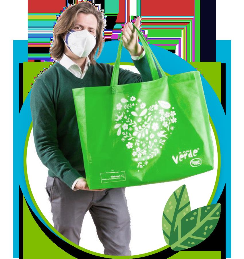 02 Recicla Tu Bolsa Verde 02
