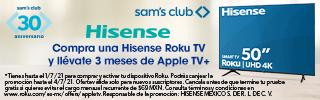 superbanner - Hisense - bait-telefonia-e-internet - Hisense Promo roku