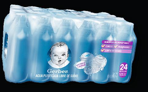 Agua Gerber 24 Pack