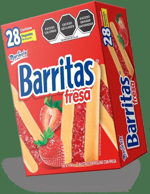 Barritas De Fresa