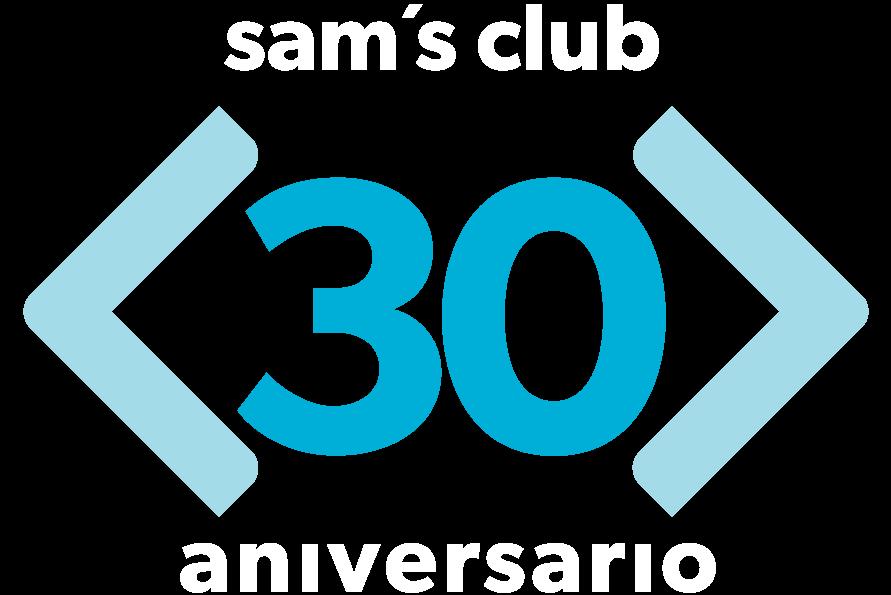 Logo 30 Anios Sams