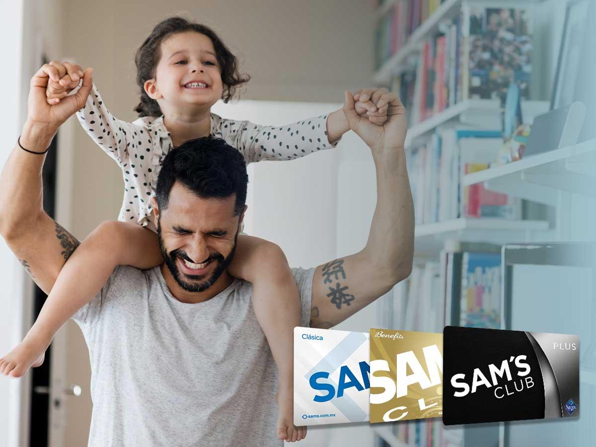 Membresías Sam's Club. Día del Padre