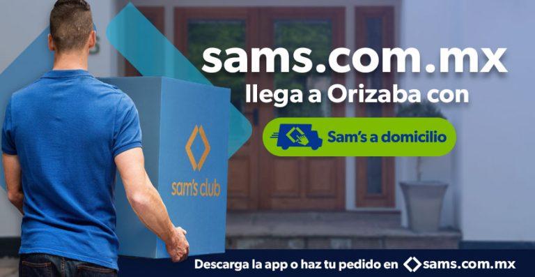 Sam's Club a domicilio Orizaba