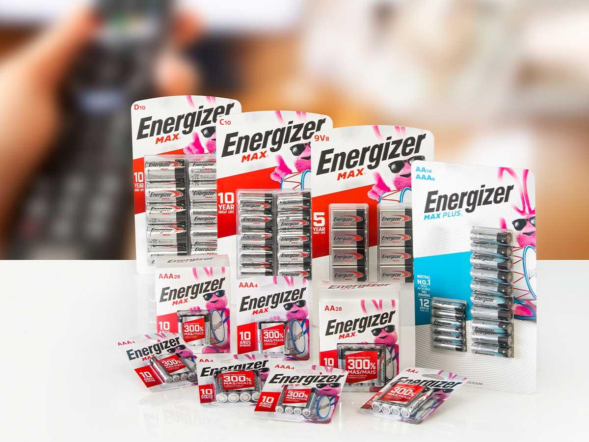 Pilas Energizer 10 Anios Vida Util