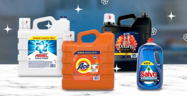 Productos de limpieza P&G