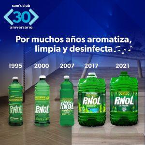 Evolucion Pinol