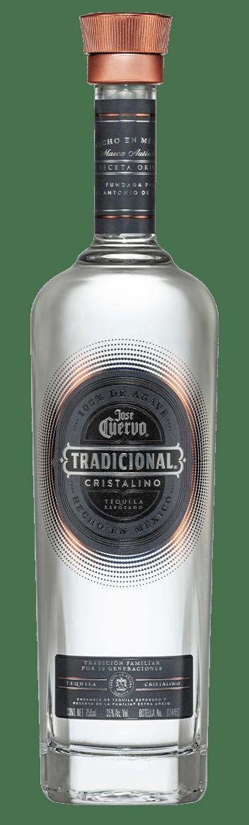 Tequila José Cuervo Tradicional Cristalino