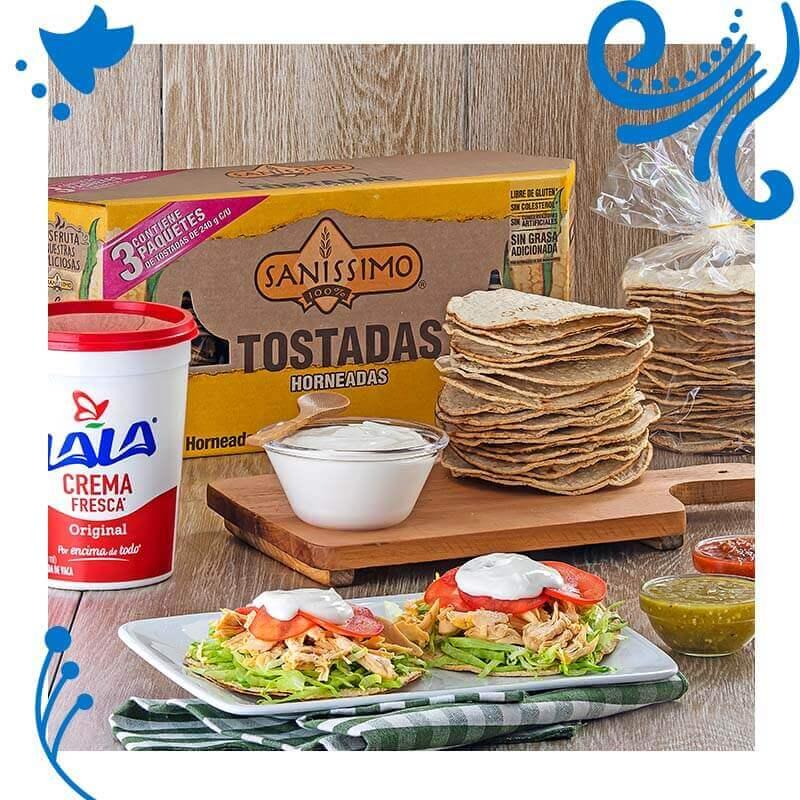 Mexicano-Tostadas