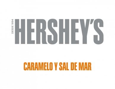 Logo Chispas Caramelo Y Sal De Mar