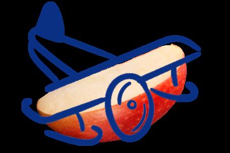Avion Manzana 2