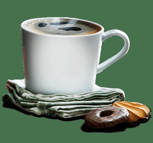 Cafe Caliente En Taza