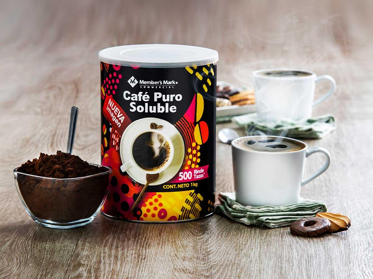 Café Puro Soluble Member'S Mark