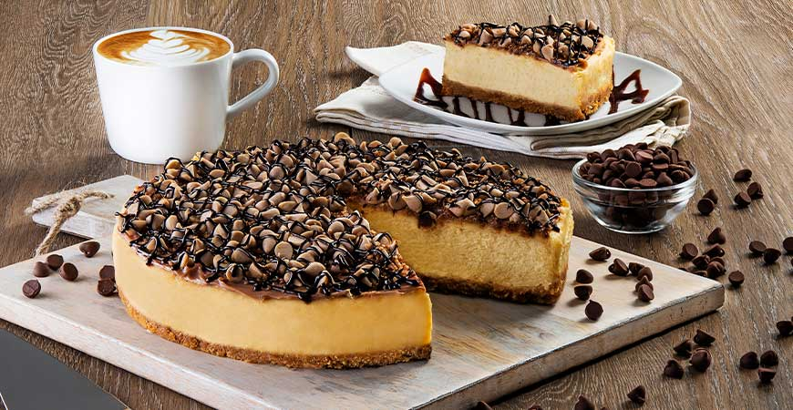 Cheesecake Caramel Salt