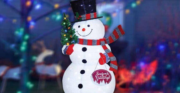 muñeco de nieve Member's Mark el invitado principal